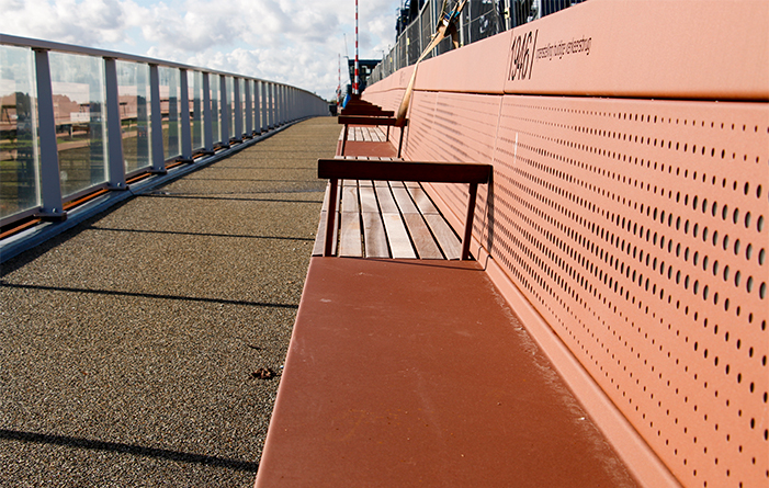 Longest bench in the Netherlands